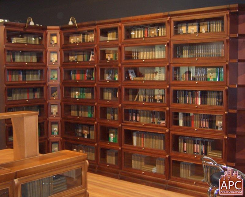 Библиотека на заказ фото.