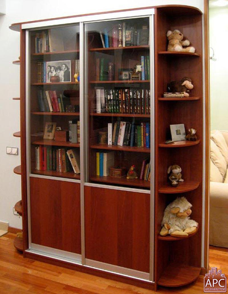 Купить шкаф-купе для библиотеки в екатеринбурге и свердловск.