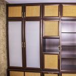 двери шкафа купе ротанг