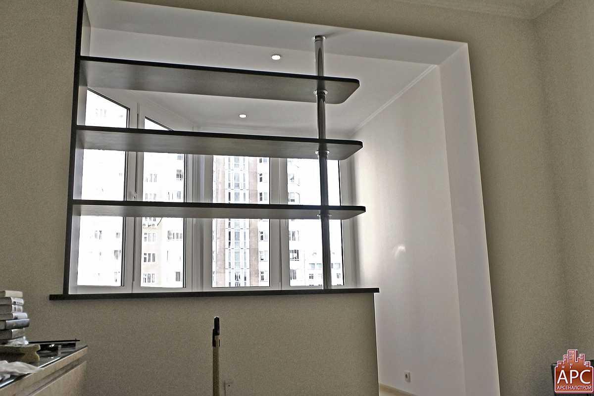 Стеллаж на балкон п44т. - галерея работ утепление - каталог .