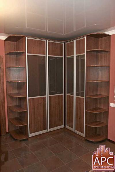 шкаф <em>дизайна</em> в прихожую угловой