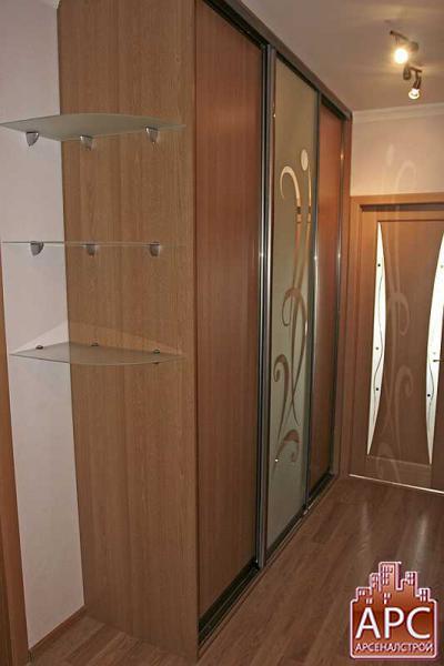 встроенные шкафы в прихожую