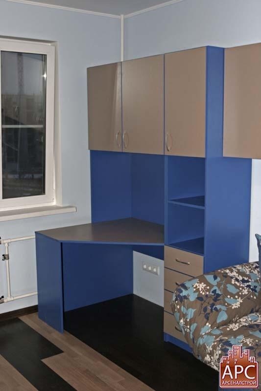 синяя детская мебель