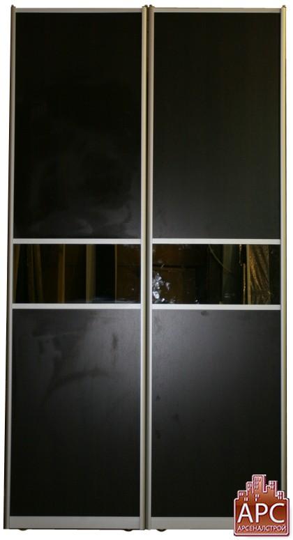 двери купе с зеркалом