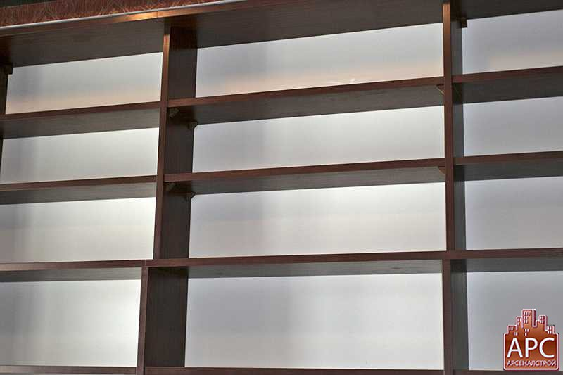 книжные стеллажи в интерьере