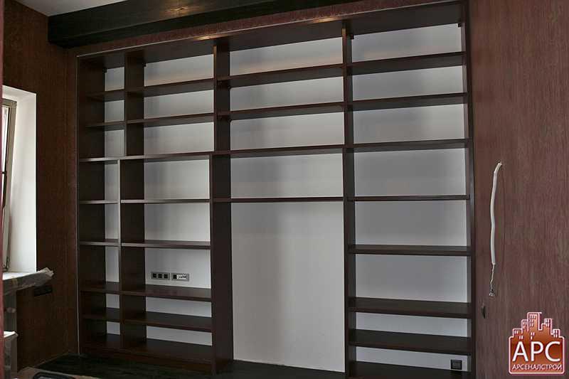 стеллажи для книжных магазинов и квартир
