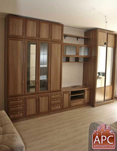 Корпусная мебель Казань (стенки для гостиных, шкафы, комоды, тумбы): цены, описание, размеры, каталог.