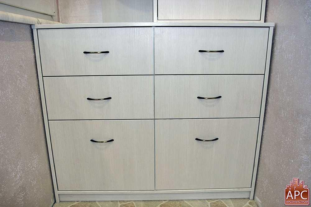 шкафы на лоджию изготовление